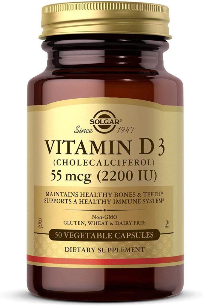 Vitamina d3 cápsulas Solgar