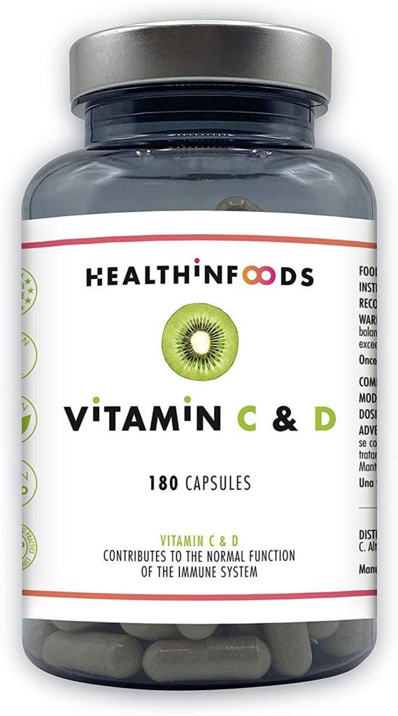 vitamina c y d de health in foods