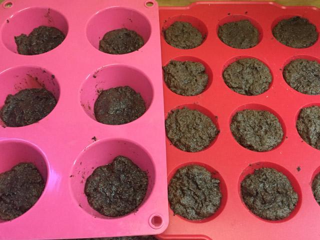 brownie en moldes individuales