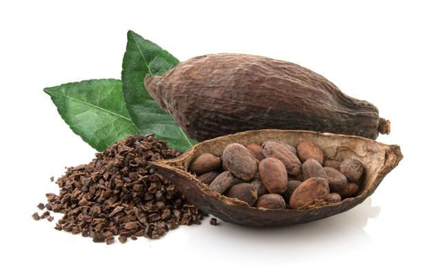 cacao puro y semillas