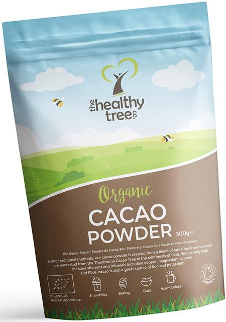 cacao en polvo eco the healthy tree