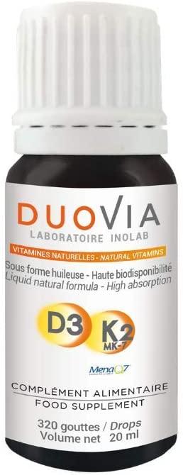 vitamina d3+k2 líquida duovia