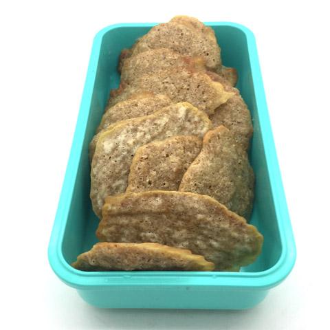 galletas en caja verde