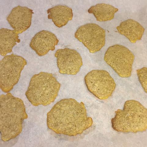 galletas recién sacadas del horno