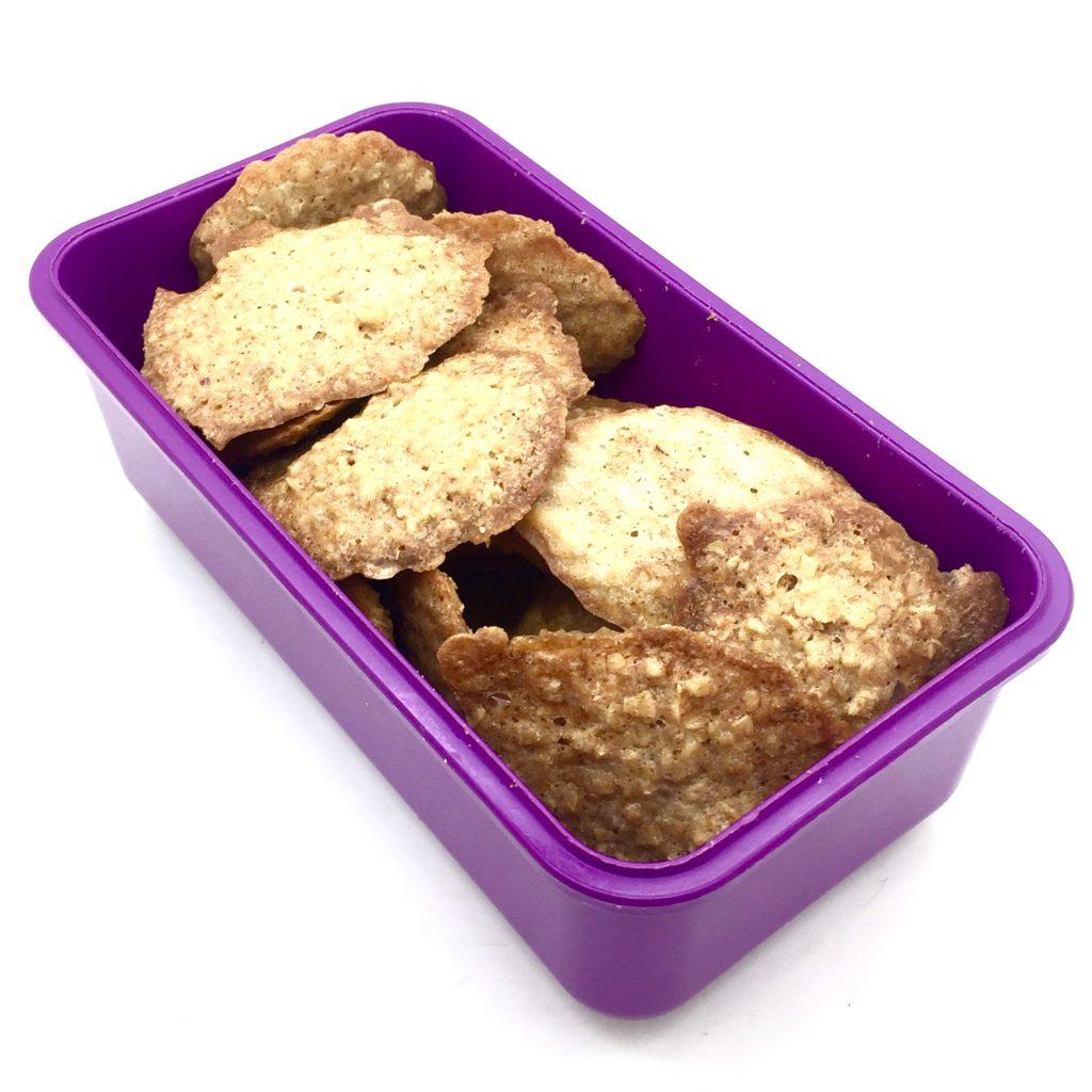 galletas en envase hermético
