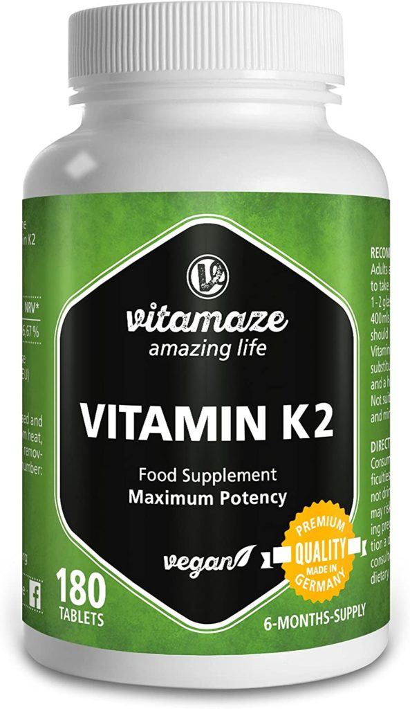 vitamina k2 alta dosis de Vitamaze