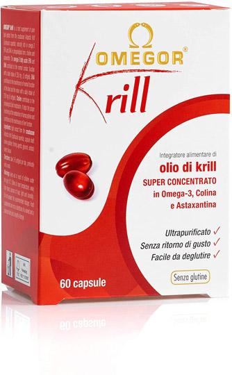 mejor omega3 Omegor krill