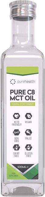aceite de coco mct c8 de coco