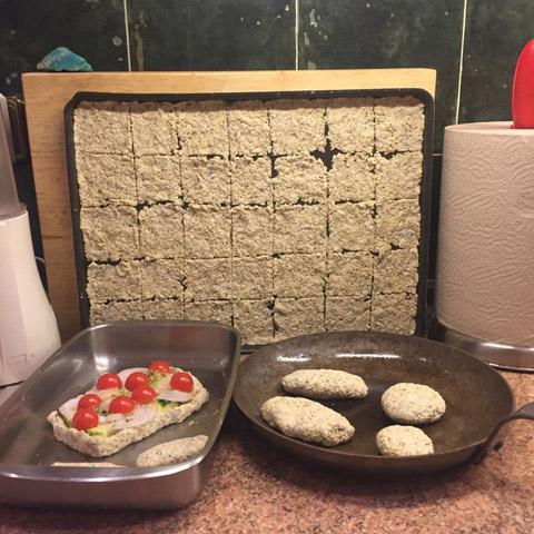 preparación panes sin gluten